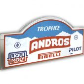 Trophée Plexi 15 mm, chants polis brillants - Marquage sérigraphie